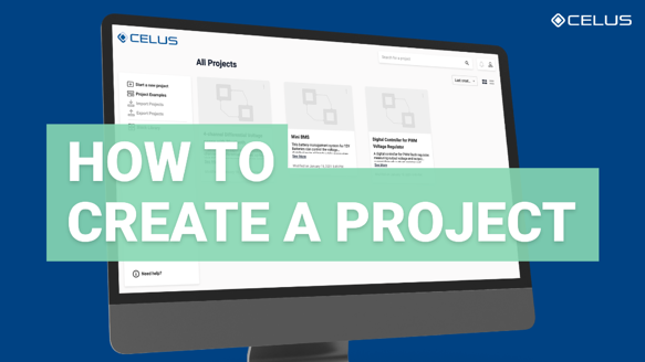 How to create a project