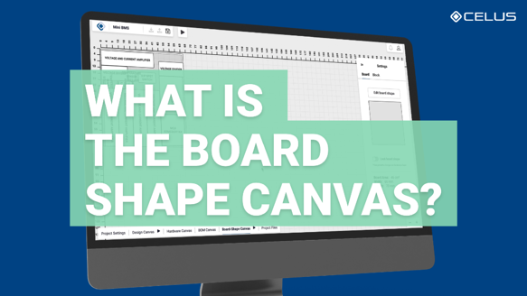 What is the Board shape canvas?