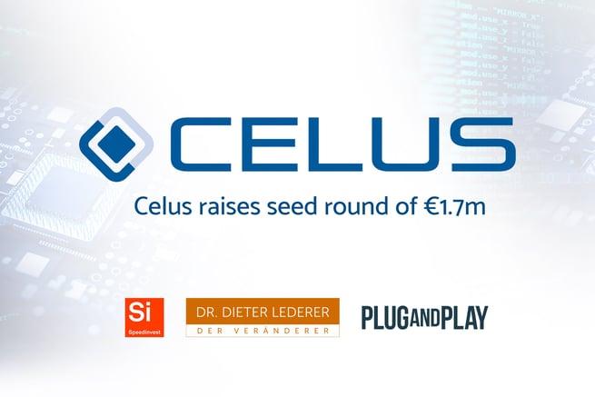 Celus raises seed round of €1.7m