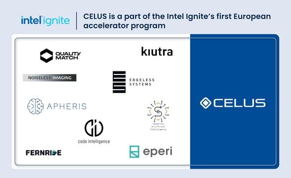 CELUS will participate inIntel Ignite's first European accelerator program