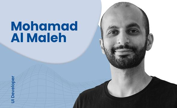 Interview with UI Developer, Mohamad Al Maleh