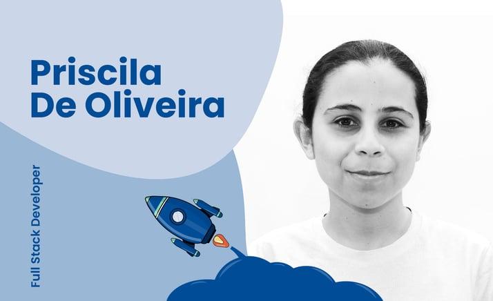 Interview With Full Stack Developer, Priscila De Oliveira