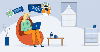 A quick reminder of important tips to successfully work remotely during the Coronavirus