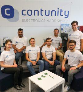 Foto 1: Contunity Team