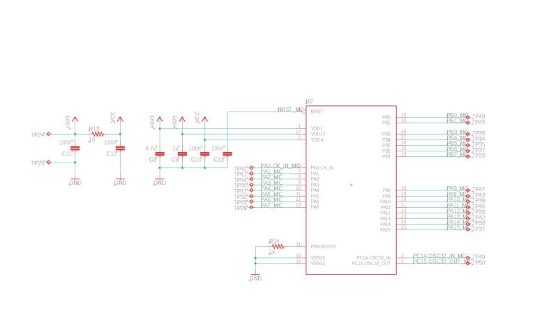 Schematics generated in Celus software