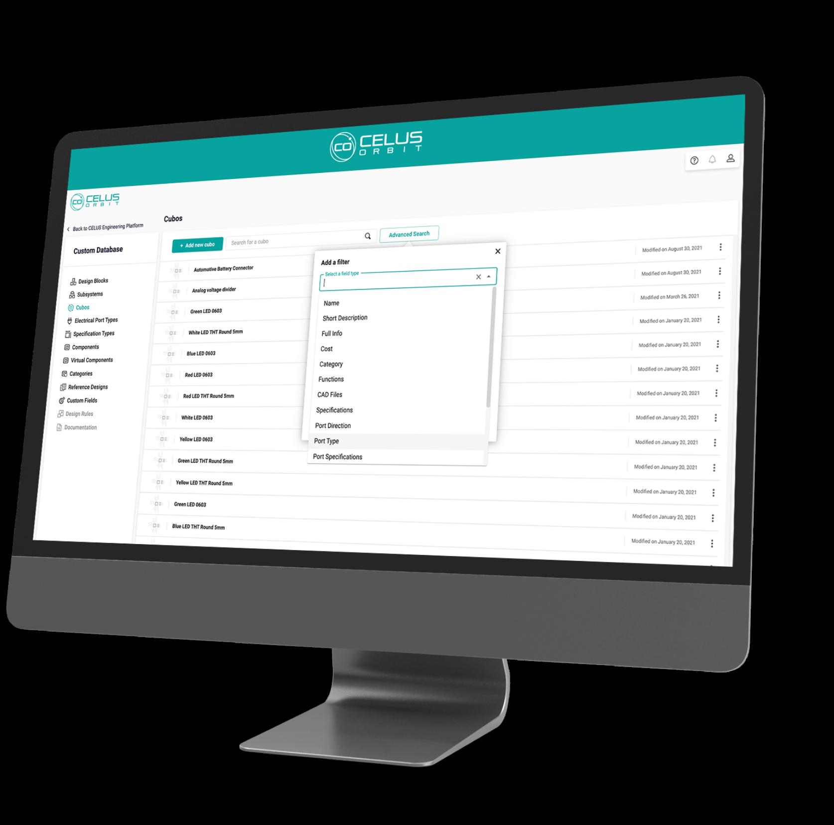 Computer Monitor ORBIT full screen