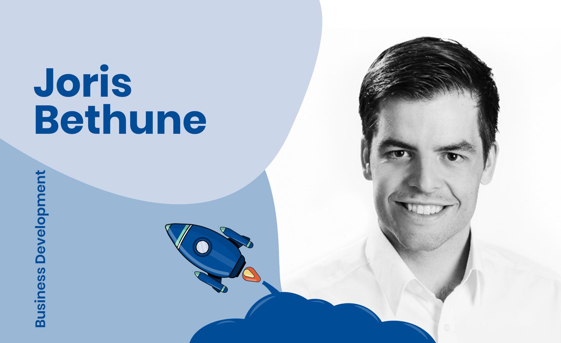 Interview with Business Development Manager, Joris Bethune